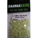 Lumo Beads White Large 50pc
